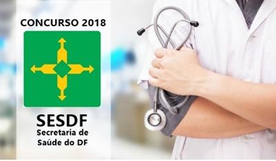 inscrição Concurso da Secretaria de Saúde do Distrito Federal.