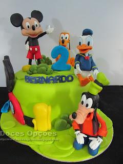 bolo casa mickey mouse doces opções