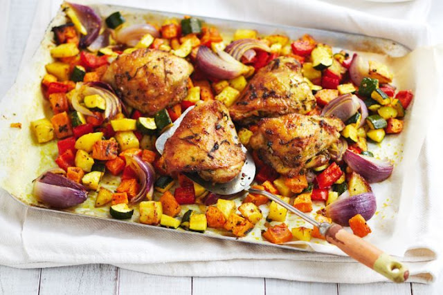 Moroccan-Spiced Chicken Recipe