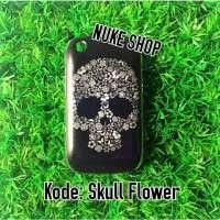 Hardcase Handphone Skull Flower