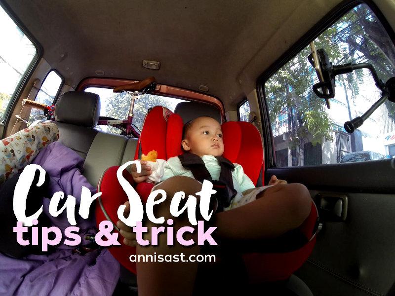 agar anak betah di car seat