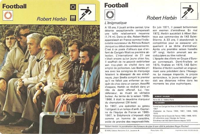 LA FICHE DETAILLEE. Robert Herbin.