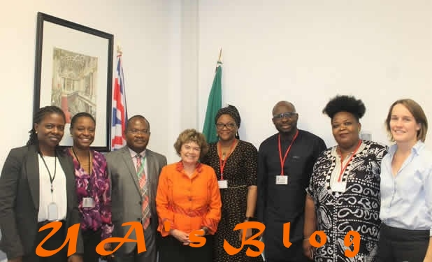 PHOTOS: British High Commissioner meets INEC, CSOs over 2019 General Elections