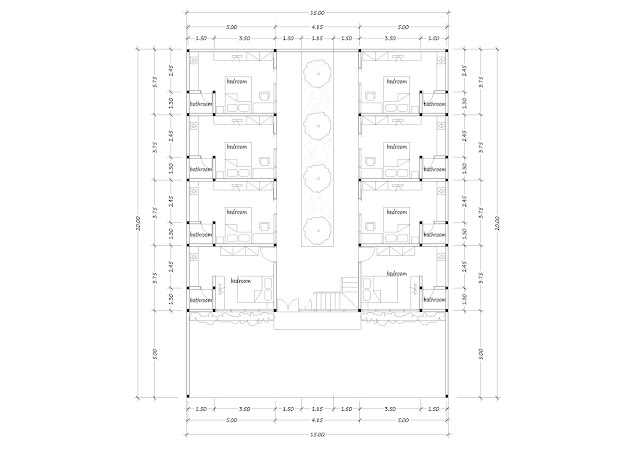 Boarding house plan 28
