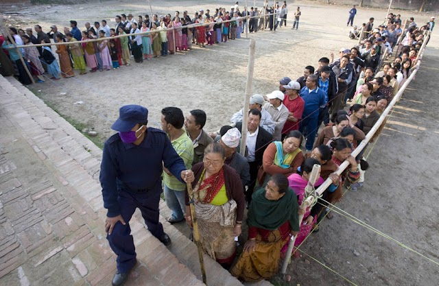 तीन प्रदेशका ३ सय ३४ स्थानीय तहमा आज निर्वाचन, <br>  प्रमुख दलबीच कडा प्रतिस्पर्धा