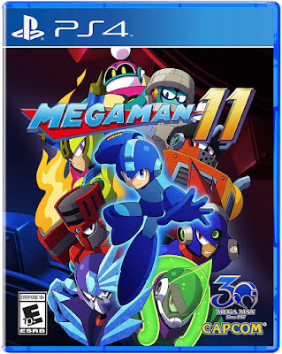 Mega Man 11 Game Cover Ps4