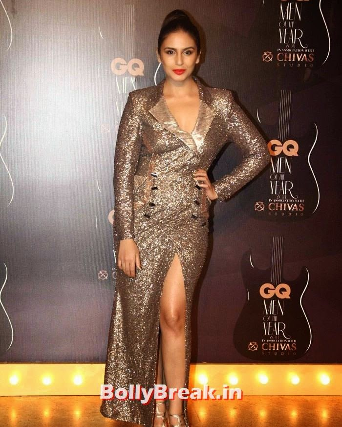 Huma Qureshi, Red Carpet Pics of GQ Men Of The Year Awards 2014