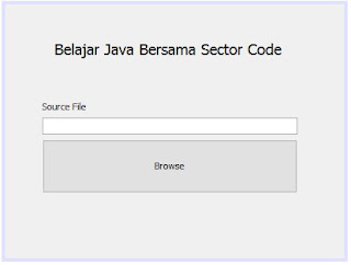 Tutorial Java : FileNameExtentionFilter JFileChooser dialog Java
