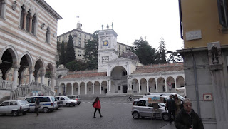 The Piazza della Libertà is the architectural showpiece of the northeastern city of Udine