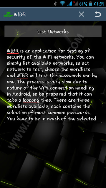 WIBR (WiFi BruteForce) - Android App For Hackers - Effect ...