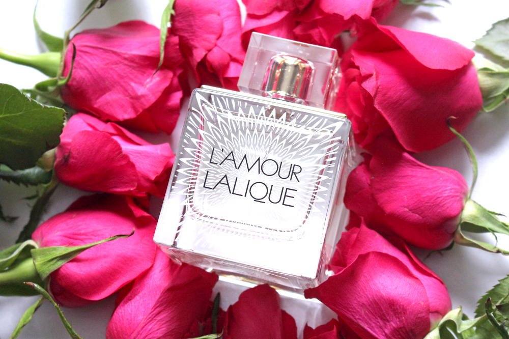 Lalique L'Amour eau de parfum perfume - UK luxury beauty blog