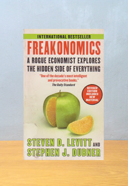 FREAKONOMICS, Steven D Levitt And Stephen J. Dubner