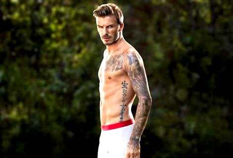 side beckham tattoo
