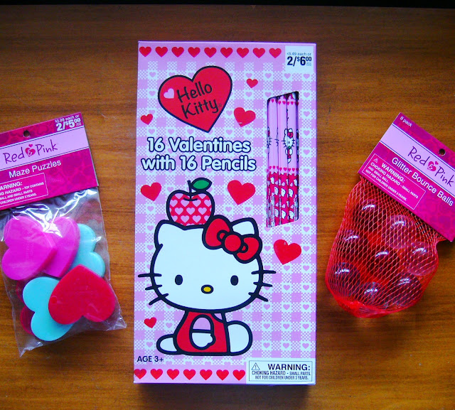 Hello Kitty pencils.