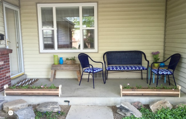 Porch after #1