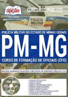 Download Apostila Concurso PM MG 2019 PDF Grátis
