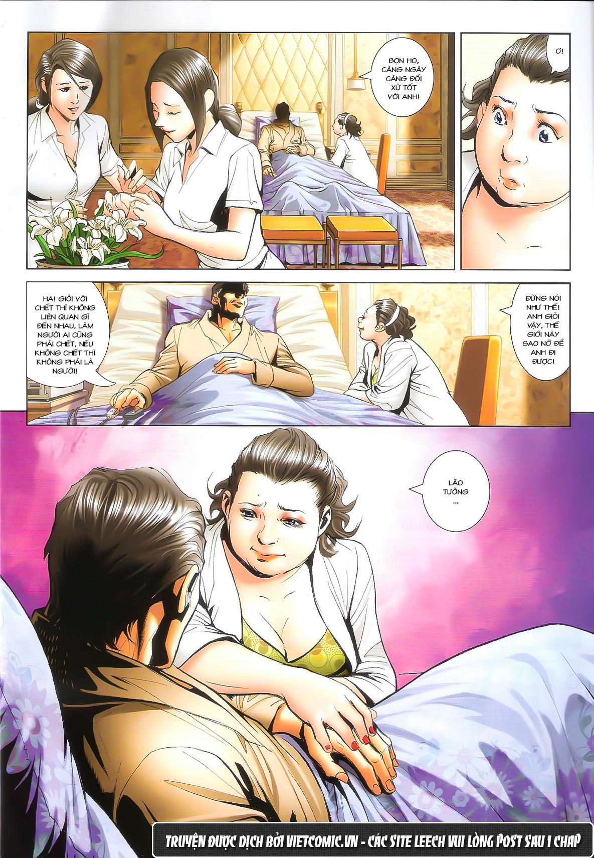 Người Trong Giang Hồ chapter 1611: đại hạn của tưởng thiên sinh trang 18