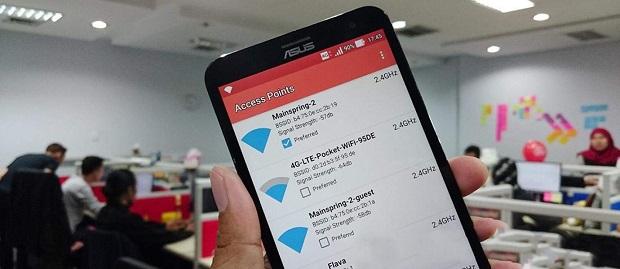 Cara Membuat WiFi Android Beralih Secara Otomatis ke Jaringan yang Lebih Kuat 80%
