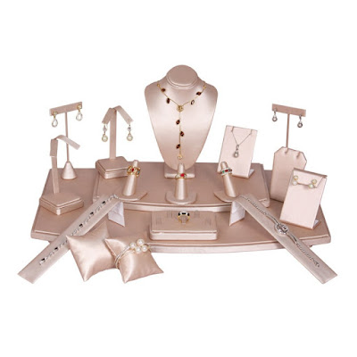 Shop Nile Corp Wholesale Champagne Jewelry Display Set