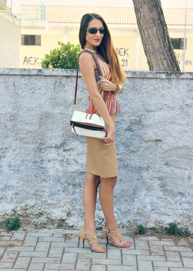 summer outfit earthy tones, rich and dynamic fashion looks