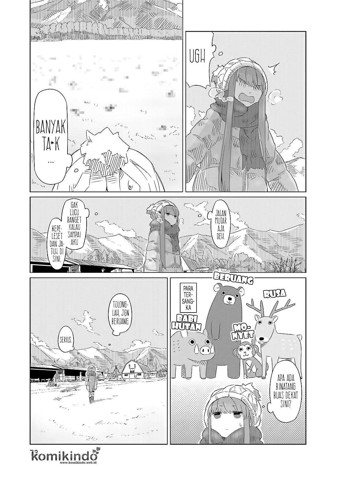 baca manga yurucamp bahasa indonesia