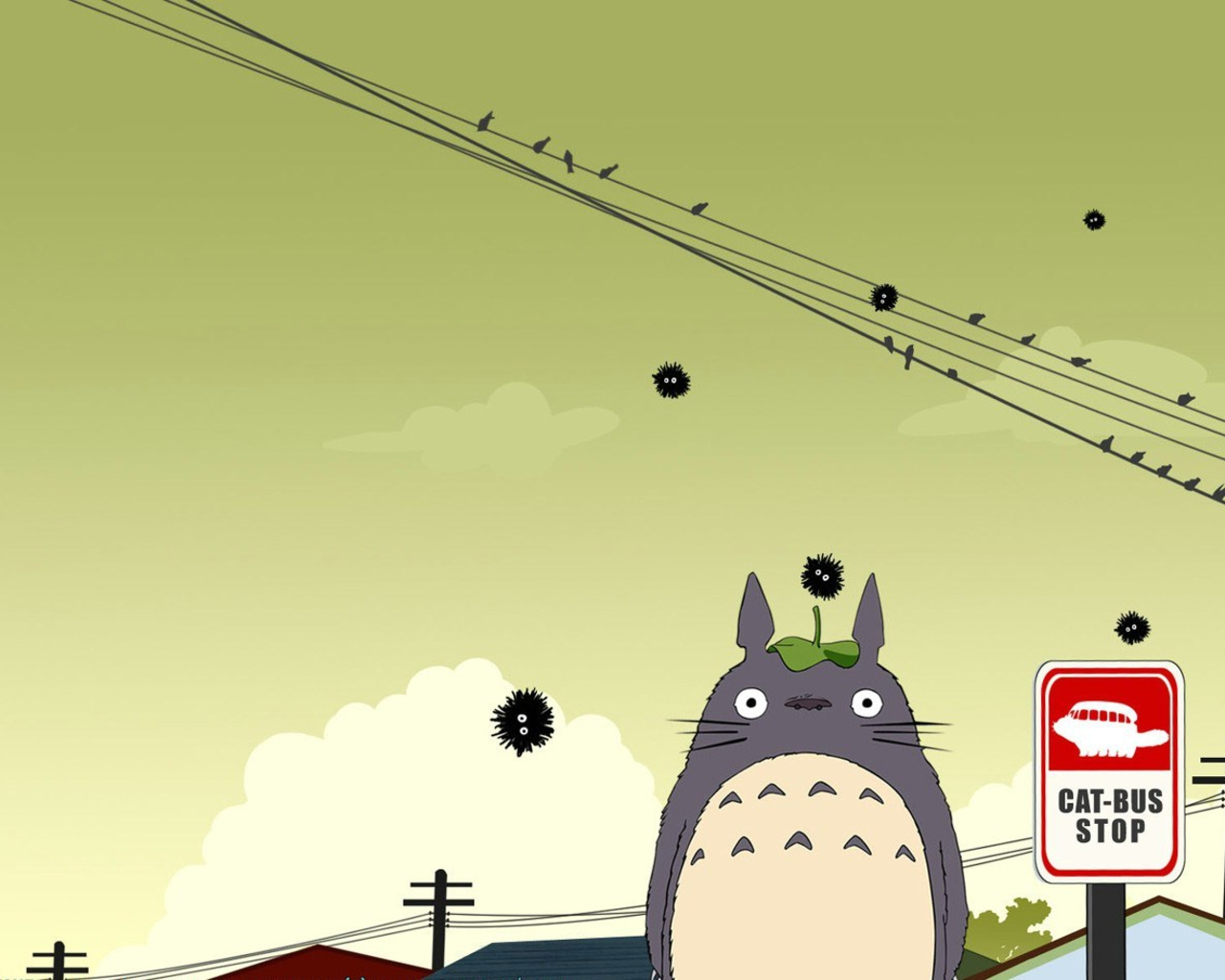 Cute Anime Cat Girl Wallpaper 14 Cute Totoro Wallpapers Selina Wing Deaf Geek Blogger