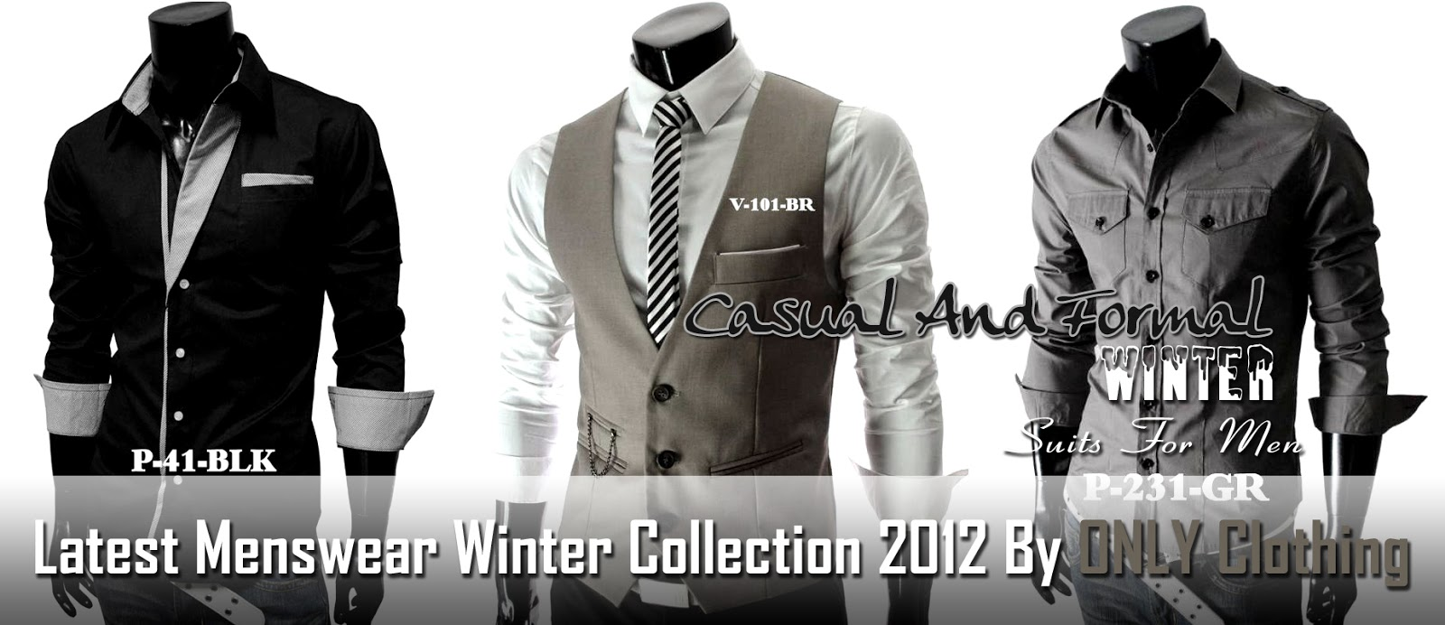 0716997a3ad Latest Menswear Winter Collection 2012 By Only Clothing   Men Winter  Collection 2012-13 By Only Style Apart