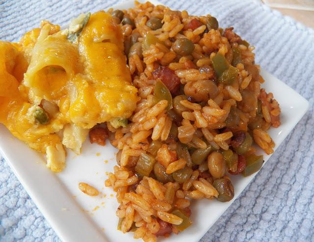 Peas n' Rice and Bahamian Mac n' Cheese