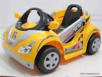 Mobil Mainan Aki JUNIOR CH9916 RIDER SUPER HERO dengan Kendali Jauh