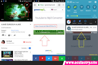 Cara Download MP3 Youtube Di Android Tanpa Aplikasi