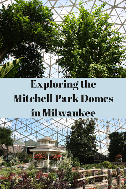 Everyday is like summer inside the Mitchell Park Domes in Milwaukee