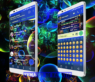 Bubbles Theme For YOWhatsApp & Fouad WhatsApp By DJFanatic