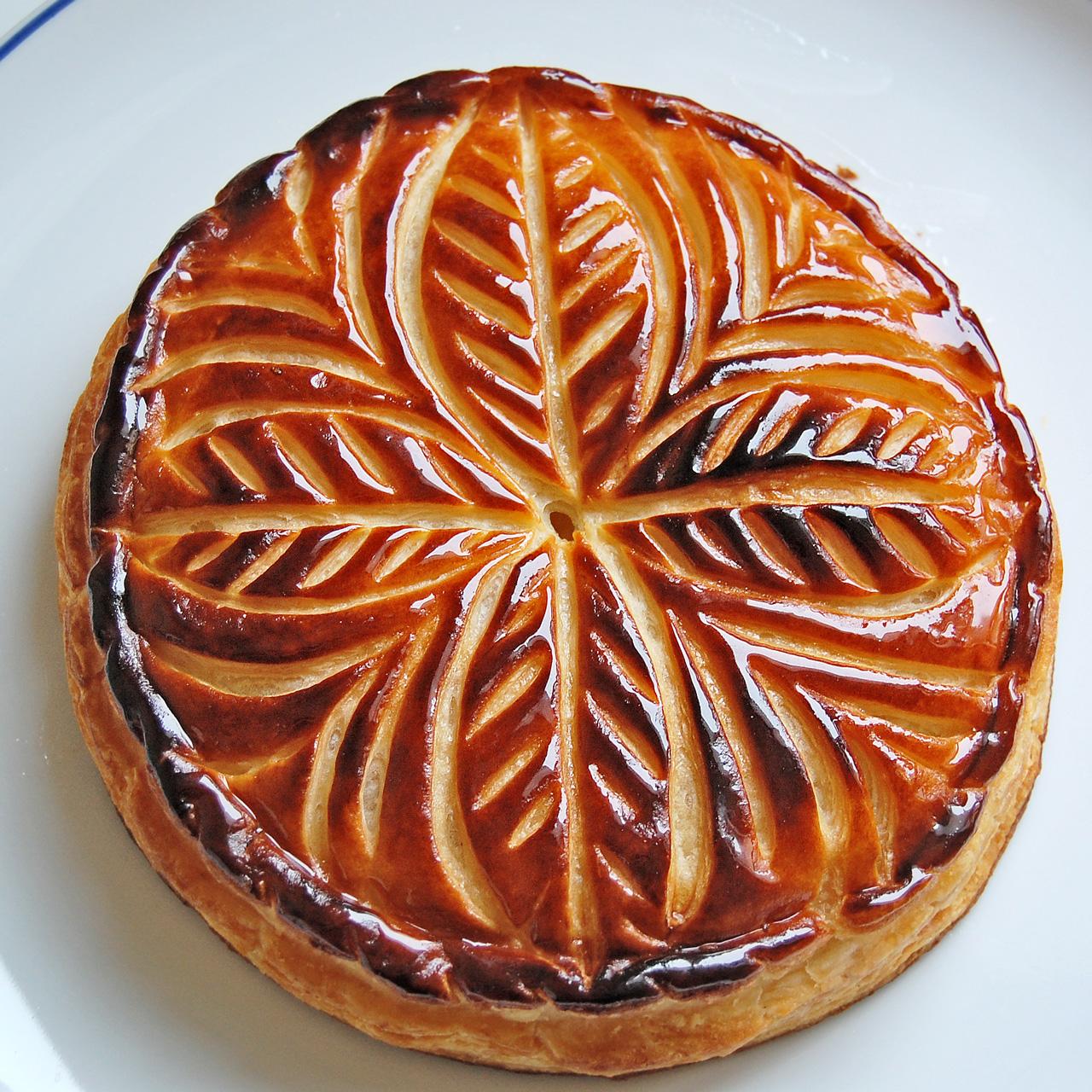 French Apple Almond Cake Recipe