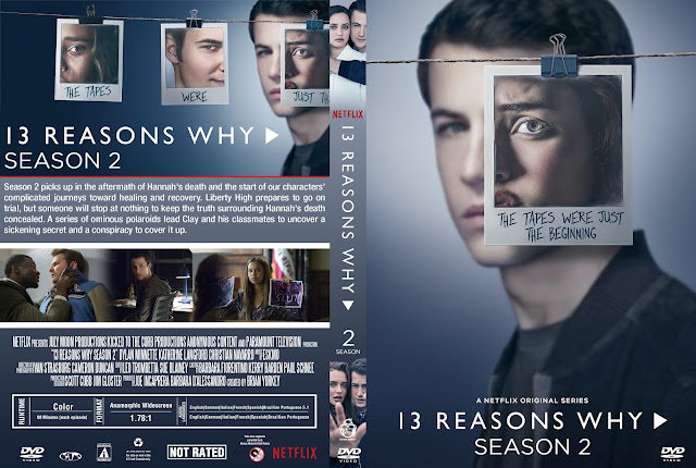 13 Reasons Why Season 2 DVD Cover