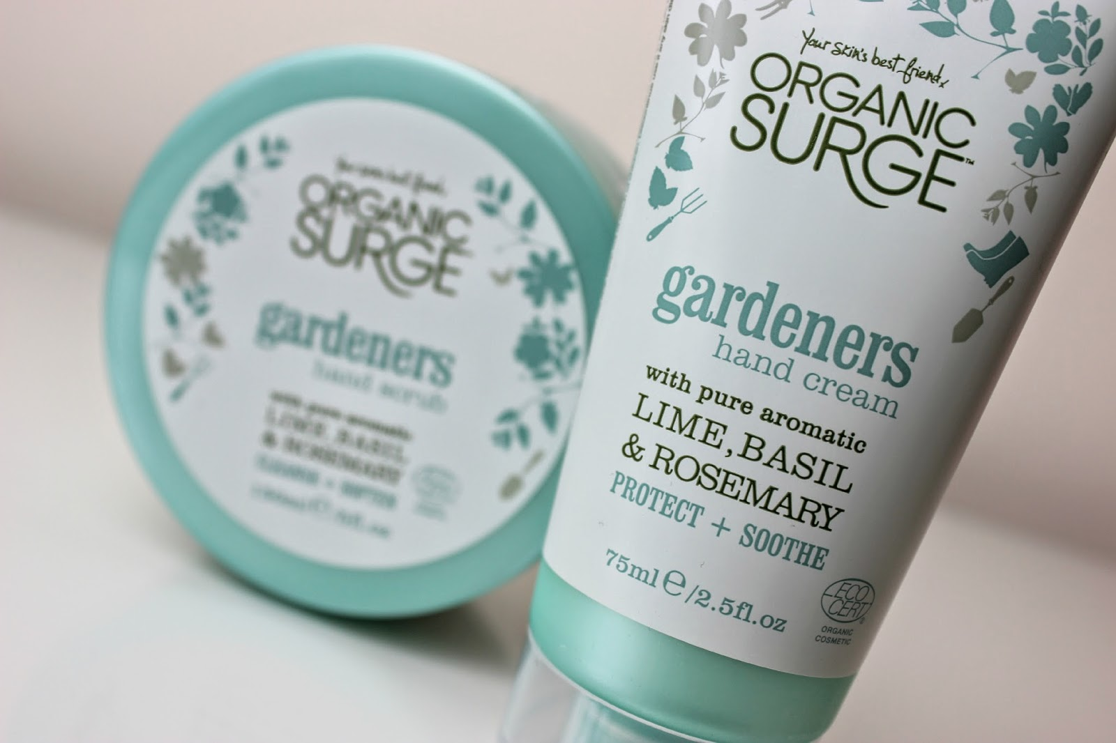 A picture of Organic Surge Gardeners Hand Scrub and Hand Cream