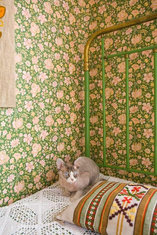 1001 papiers peints vintages my gardening tales. Black Bedroom Furniture Sets. Home Design Ideas