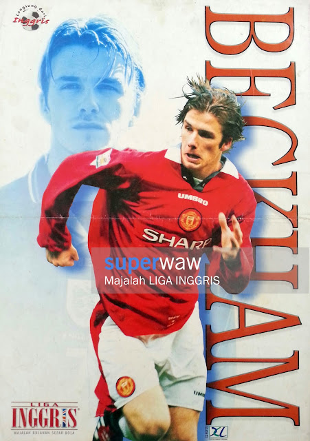 Poster David Beckham Man. United 1996