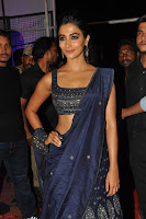 Pooja Hegde choli saree at DJ Duvvada Jaggannadham music launch ~  Exclusive 123.jpg