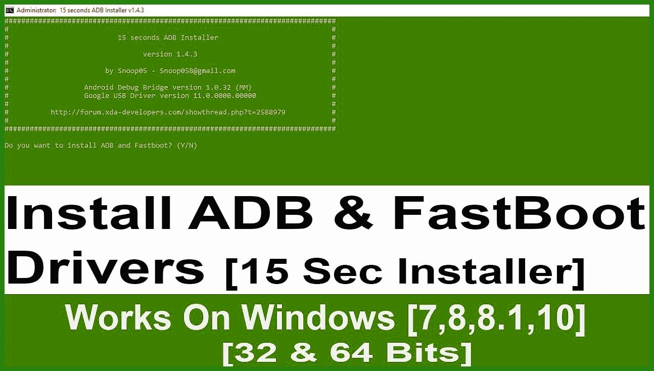 15 seconds adb installer v1.4.3