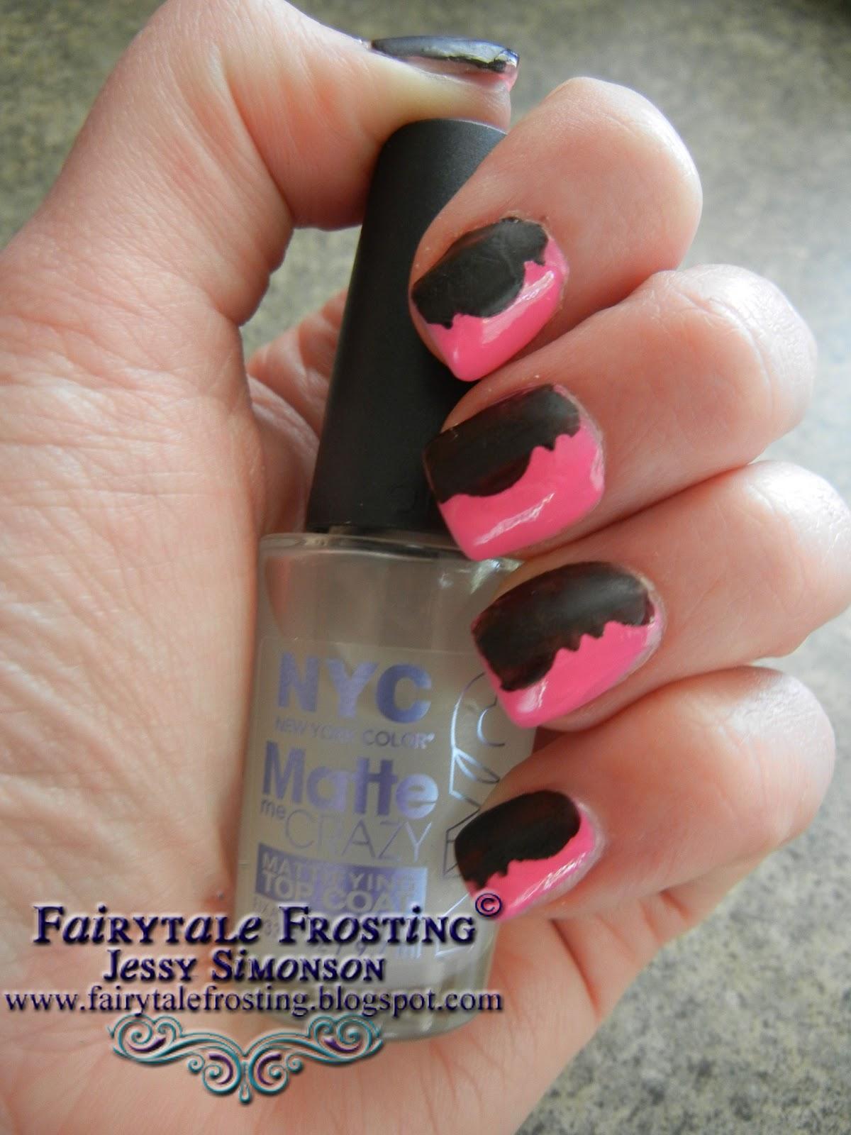 Fairytale Frosting: Decorative Scissors Nail Art