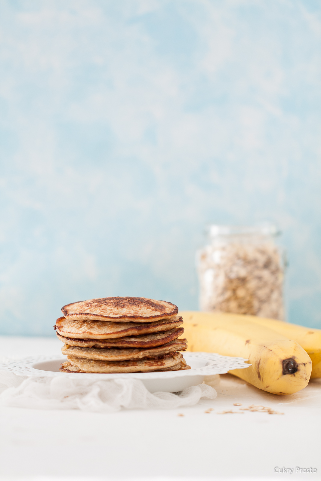 Fit placki bananowo-owsiane
