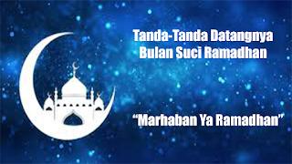tanda-tanda masuknya bulan ramadhan