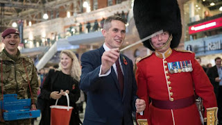 UK Defense Secretary Gavin Williamson