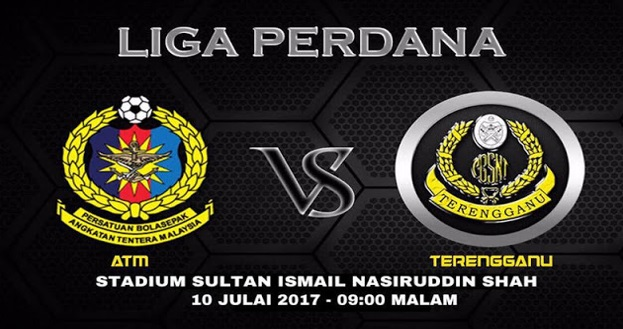 Live Streaming ATM vs Terengganu 10.7.2017 Liga Perdana