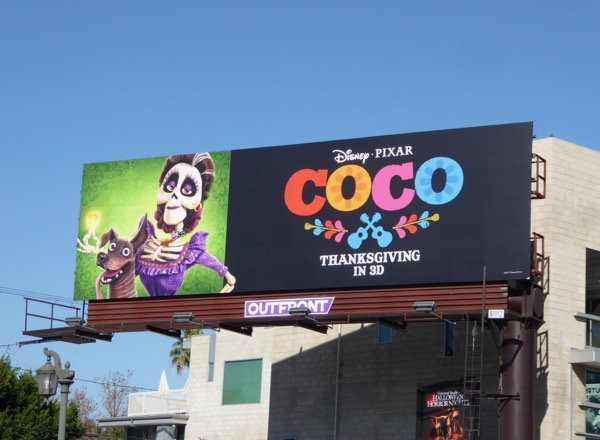 Coco film billboard