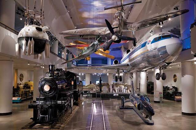 História do Museu da Ciência e da Indústria