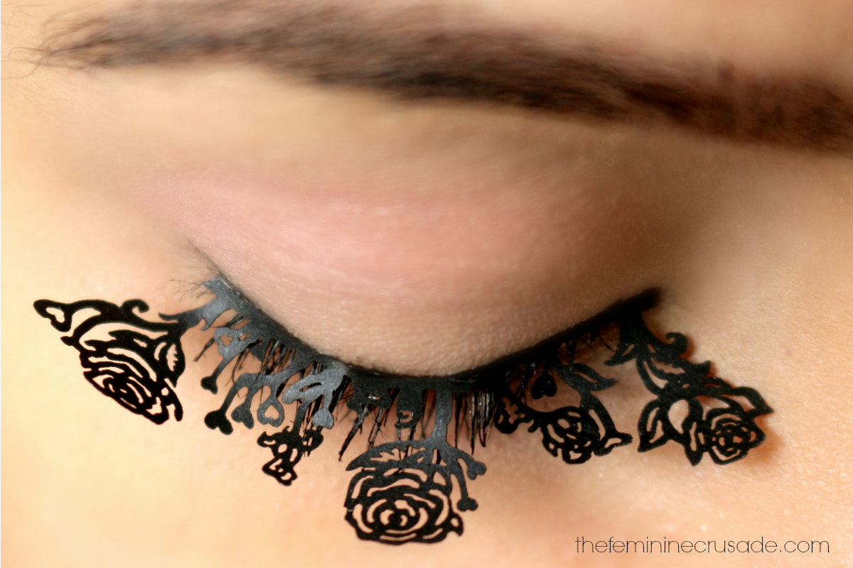 Born Pretty Store Chinese Style Paper-Cut Eyelashes