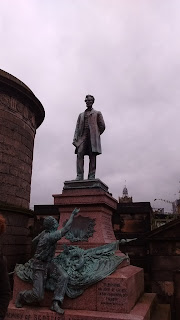 Mermorial to Scots that died on the American Civil War, Abraham Lincoln, Old Calton Burial ground, edinburgh