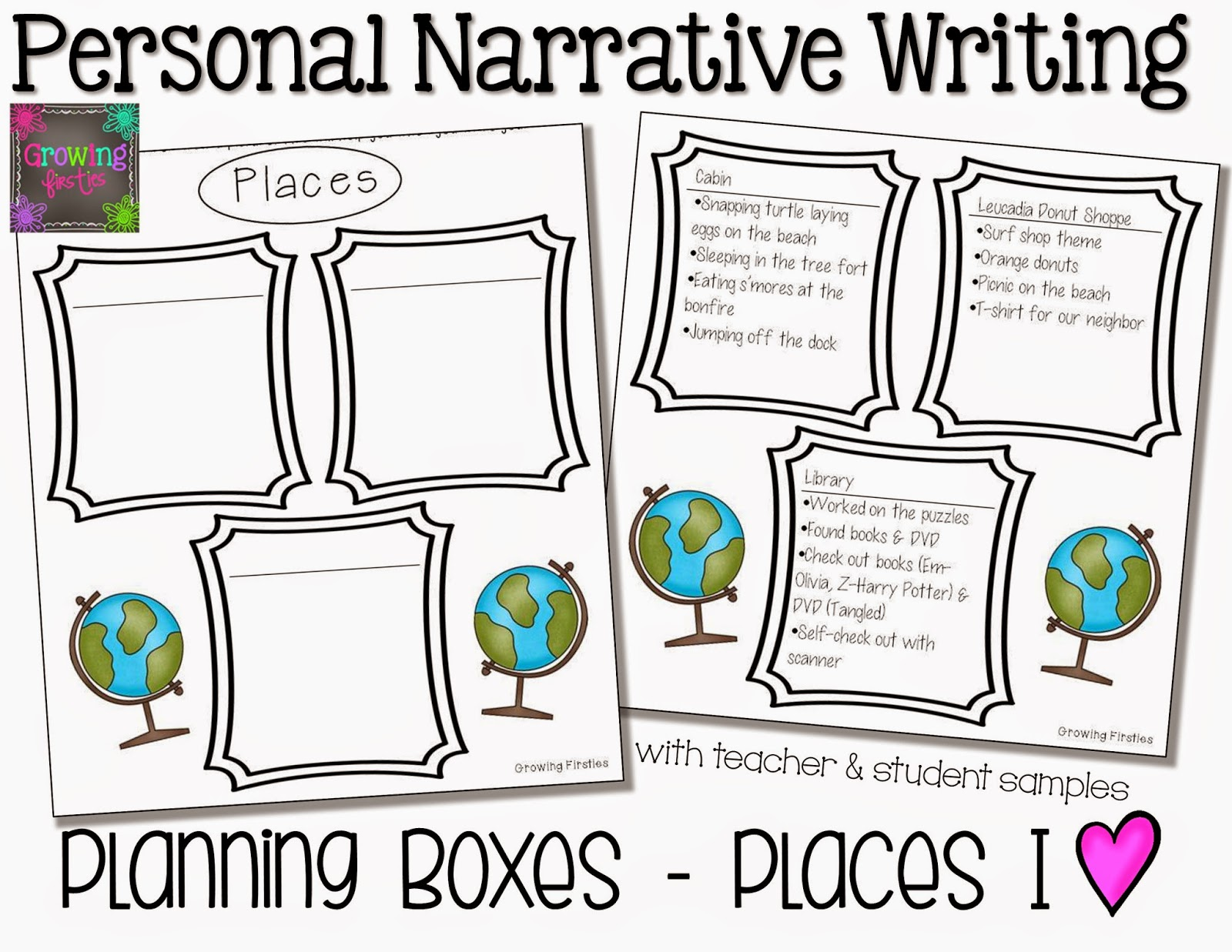 Personal Narrative Writing Workshop Unit Growing Firsties