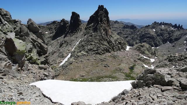 Panorámica del Ameal de Pablo en la Sierra de Gredos
